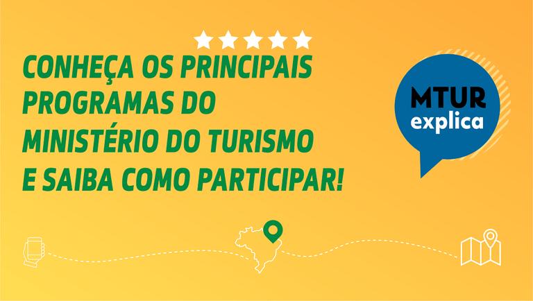"""Mtur lança Cartilha  """"MTur Explica"""""""