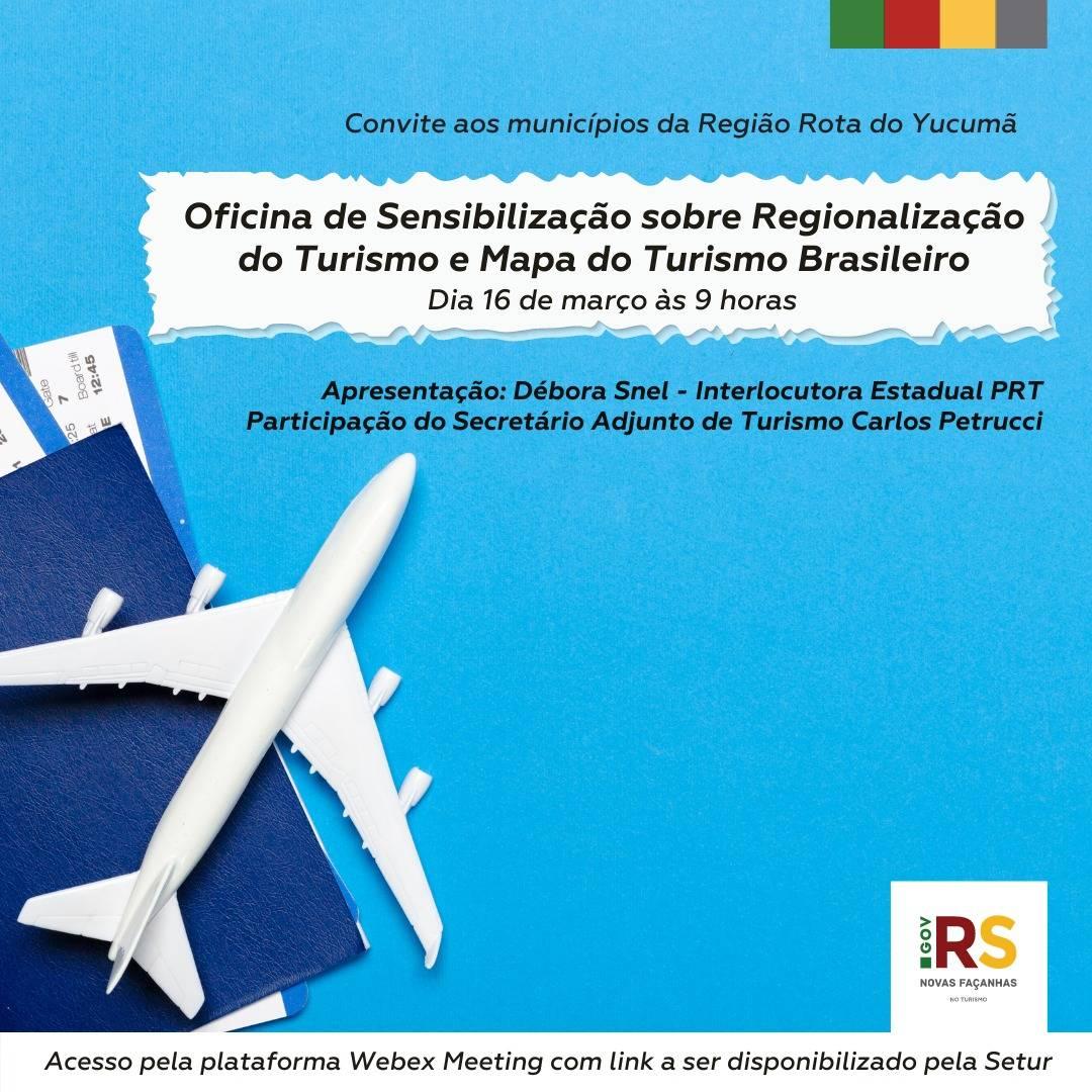 Oficina de Sensibilização sobre Regionalização do Turismo